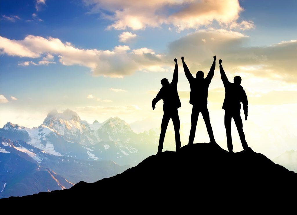 Teamführung und Teamarbeit: Gemeinsam den Gipfel erklimmen.