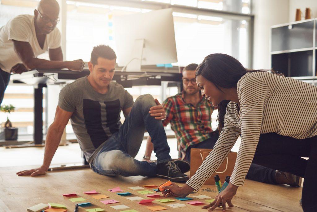 Kreativität und Unternehmenserfolg im Team