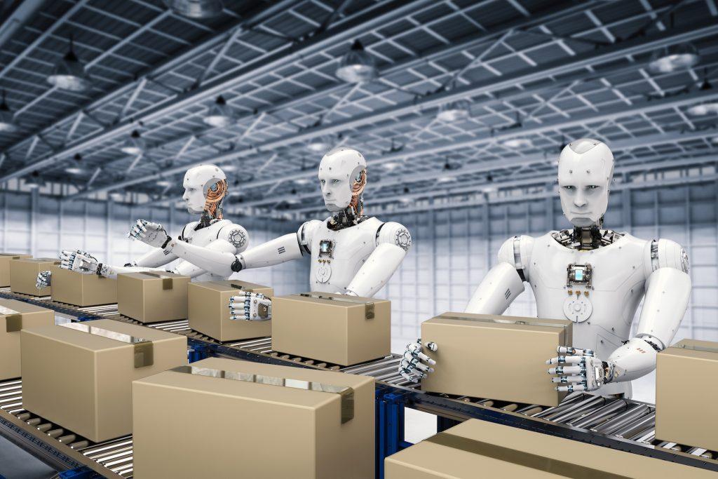 Roboter bei der Arbeit
